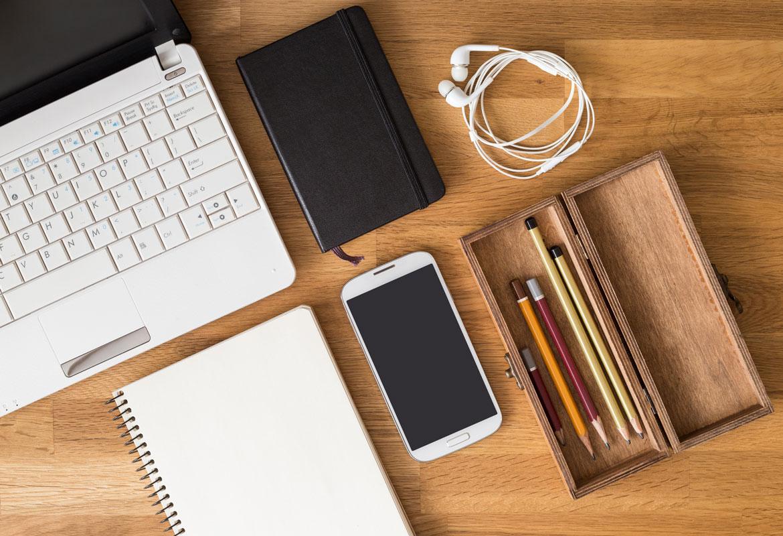 oggetti da scrivania