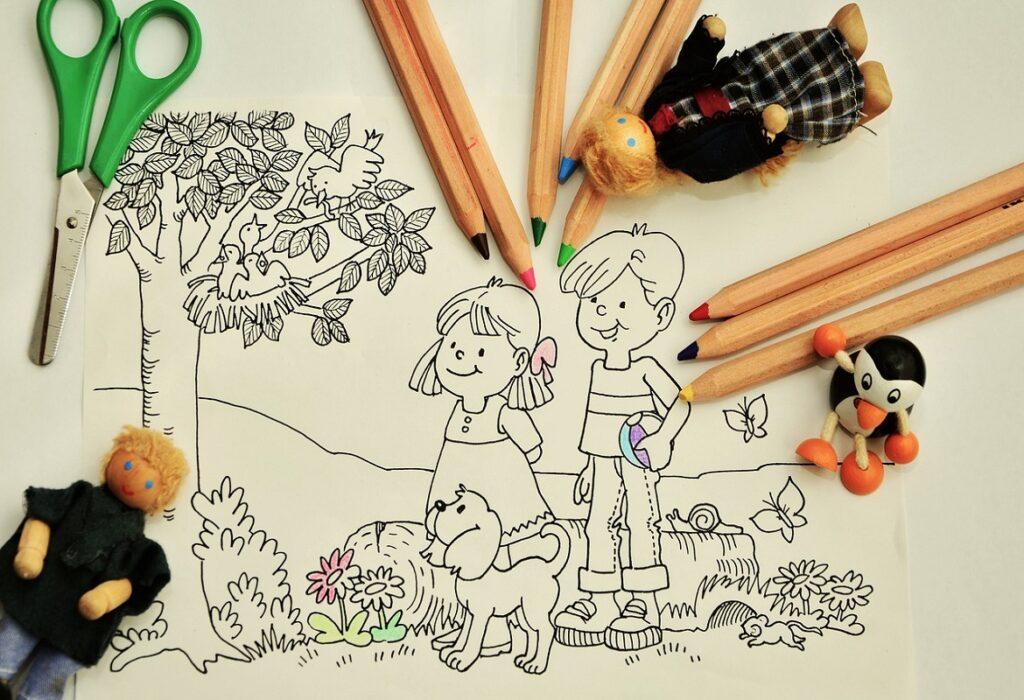 Pastelli e pennarelli per i bambini | Robot Vignola